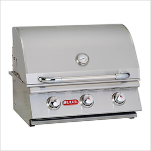 Steer 24-Inch 3-Burner 45K BTUs Grill Head (Natural Gas)