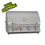Bull Outdoor Products Lonestar 30-Inch 4-Burner 60K BTUs Grill Head with Lights (Liquid Propane)