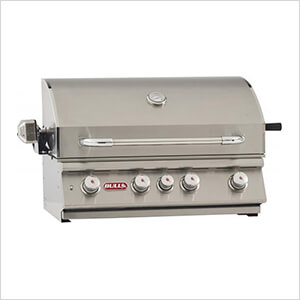 Angus 30-Inch 4-Burner 75K BTUs Grill Head with Lights and Rotisserie (Liquid Propane)