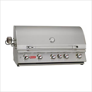 Brahma 38-Inch 5-Burner 90K BTUs Grill Head with Lights and Rotisserie (Natural Gas)