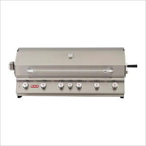 Diablo 46-Inch 6-Burner 105K BTUs Grill Head with Lights and Rotisserie (Natural Gas)