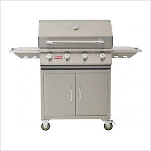 Outlaw 30-Inch 4-Burner 60K BTUs Freestanding Grill (Natural Gas)