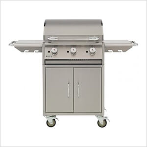 24-Inch Freestanding Commercial Style Flat Top Griddle (Liquid Propane)