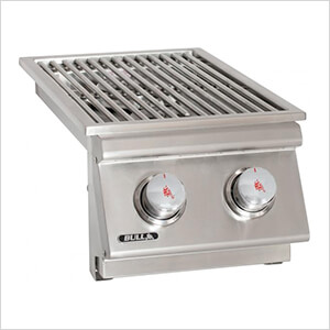 30K BTUs Drop-In Dual Side Burner (Liquid Propane)