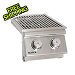 Bull Outdoor Products 30K BTUs Drop-In Dual Side Burner (Natural Gas)