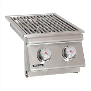 30K BTUs Drop-In Dual Side Burner (Natural Gas)