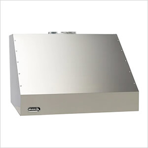 42-Inch 2500 CFM Stainless Steel Outdoor Vent Hood