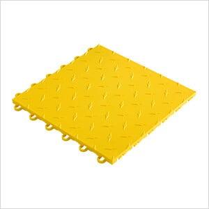 """12"""" x 12"""" Yellow Garage Floor Tile (10 Pack)"""