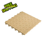 "Speedway Tile 12"" x 12"" Mocha Garage Floor Tile (10 Pack)"