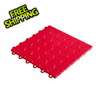 "Speedway Tile 12"" x 12"" Red Garage Floor Tile (10 Pack)"