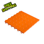 "Speedway Tile 12"" x 12"" Orange Garage Floor Tile (10 Pack)"