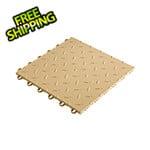 """Speedway Tile 12"""" x 12"""" Mocha Garage Floor Tile (50 Pack)"""
