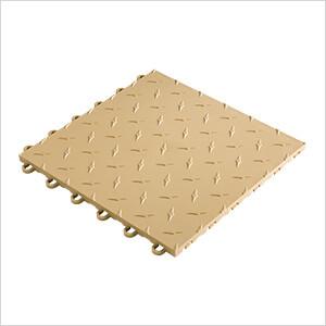 "12"" x 12"" Mocha Garage Floor Tile (50 Pack)"