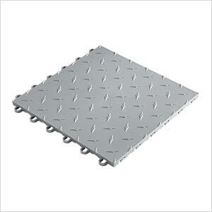 "12"" x 12"" Silver Garage Floor Tile (50 Pack)"