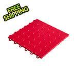 """Speedway Tile 12"""" x 12"""" Red Garage Floor Tile (50 Pack)"""