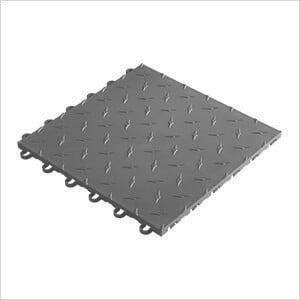 """12"""" x 12"""" Grey Garage Floor Tile (50 Pack)"""