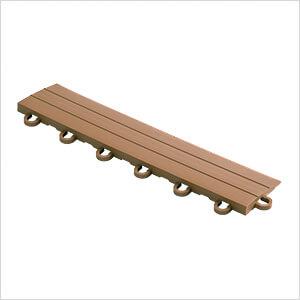 Brown Garage Floor Tile Ramp - Looped (10 Pack)
