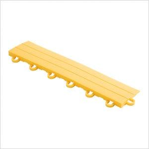 Yellow Garage Floor Tile Ramp - Looped (10 Pack)