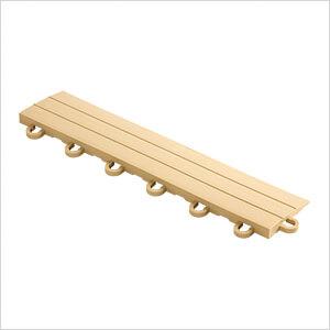 Mocha Garage Floor Tile Ramp - Looped (10 Pack)