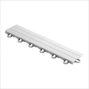 Silver Garage Floor Tile Ramp - Looped (10 Pack)