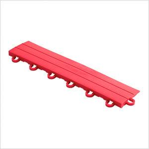Red Garage Floor Tile Ramp - Looped (10 Pack)