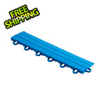 Speedway Tile Blue Garage Floor Tile Ramp - Looped (10 Pack)