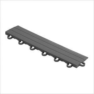 Grey Garage Floor Tile Ramp - Looped (10 Pack)