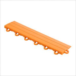 Orange Garage Floor Tile Ramp - Looped (10 Pack)