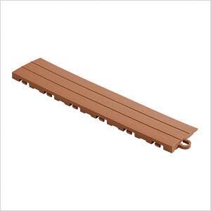 Brown Garage Floor Tile Ramp - Pegged (10 Pack)