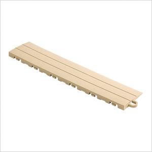 Mocha Garage Floor Tile Ramp - Pegged (10 Pack)