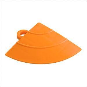 Orange Garage Floor Tile Ramp Corner (4 Pack)