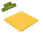 Swisstrax Diamondtrax Home 1ft x 1ft Citrus Yellow Garage Floor Tile (Pack of 10)