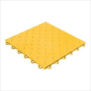 Diamondtrax Home 1ft x 1ft Citrus Yellow Garage Floor Tile (Pack of 10)