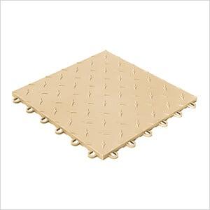 Diamondtrax Home 1ft x 1ft Mocha Java Garage Floor Tile (Pack of 10)