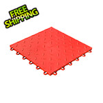 Swisstrax Diamondtrax Home 1ft x 1ft Racing Red Garage Floor Tile (Pack of 10)