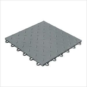 Diamondtrax Home 1ft x 1ft Slate Grey Garage Floor Tile (Pack of 10)