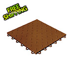 Swisstrax Diamondtrax Home 1ft x 1ft Chocolate Brown Garage Floor Tile (Pack of 50)