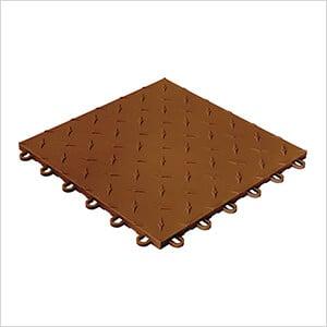 Diamondtrax Home 1ft x 1ft Chocolate Brown Garage Floor Tile (Pack of 50)