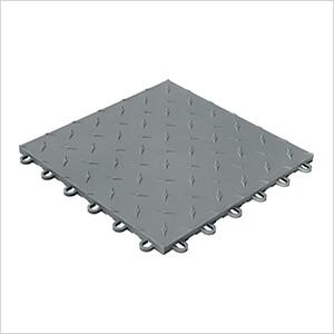 Diamondtrax Home 1ft x 1ft Slate Grey Garage Floor Tile (Pack of 50)