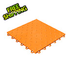 Swisstrax Diamondtrax Home 1ft x 1ft Tropical Orange Garage Floor Tile (Pack of 50)