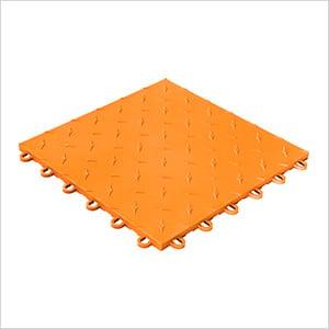 Diamondtrax Home 1ft x 1ft Tropical Orange Garage Floor Tile (Pack of 50)
