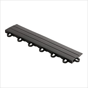 Diamondtrax Home 1ft Jet Black Garage Floor Tile Looped Edge (Pack of 10)