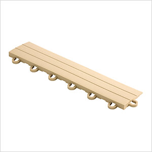 Diamondtrax Home 1ft Mocha Java Garage Floor Tile Looped Edge (Pack of 10)