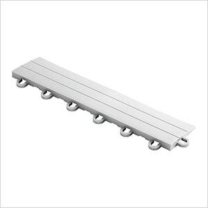 Diamondtrax Home 1ft Pearl Silver Garage Floor Tile Looped Edge (Pack of 10)
