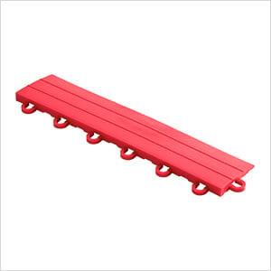 Diamondtrax Home 1ft Racing Red Garage Floor Tile Looped Edge (Pack of 10)