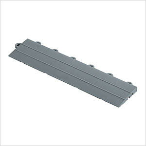 Diamondtrax Home 1ft Slate Grey Garage Floor Tile Looped Edge (Pack of 10)