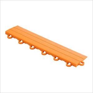 Diamondtrax Home 1ft Tropical Orange Garage Floor Tile Looped Edge (Pack of 10)