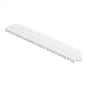 Diamondtrax Home 1ft Arctic White Garage Floor Tile Pegged Edge (Pack of 10)