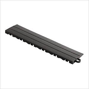 Diamondtrax Home 1ft Jet Black Garage Floor Tile Pegged Edge (Pack of 10)