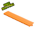 Swisstrax Diamondtrax Home 1ft Tropical Orange Garage Floor Tile Pegged Edge (Pack of 10)